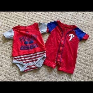 0-3 Month Philadelphia Phillies Gear onesie shirt